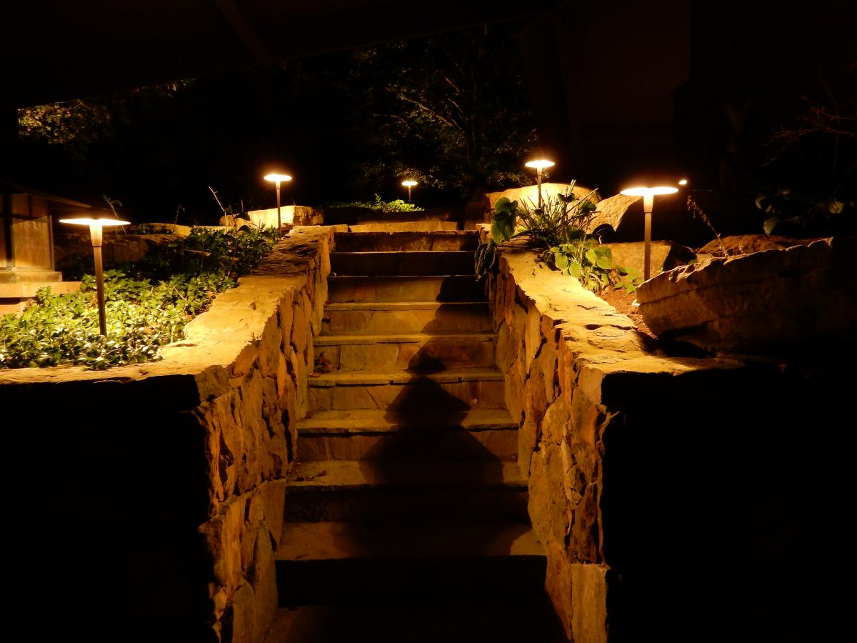 Lighting Styles Deck Steps 1b Specialty Landscape Fort Wayne Wiring Security Lights Back Search Form